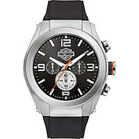watch chronograph man Harley Davidson Heavy Metal 76B176