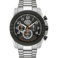 watch chronograph man Harley Davidson Street 76B175