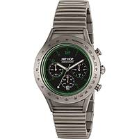 watch chronograph man Hip Hop Aluminium Chrono HWU0734
