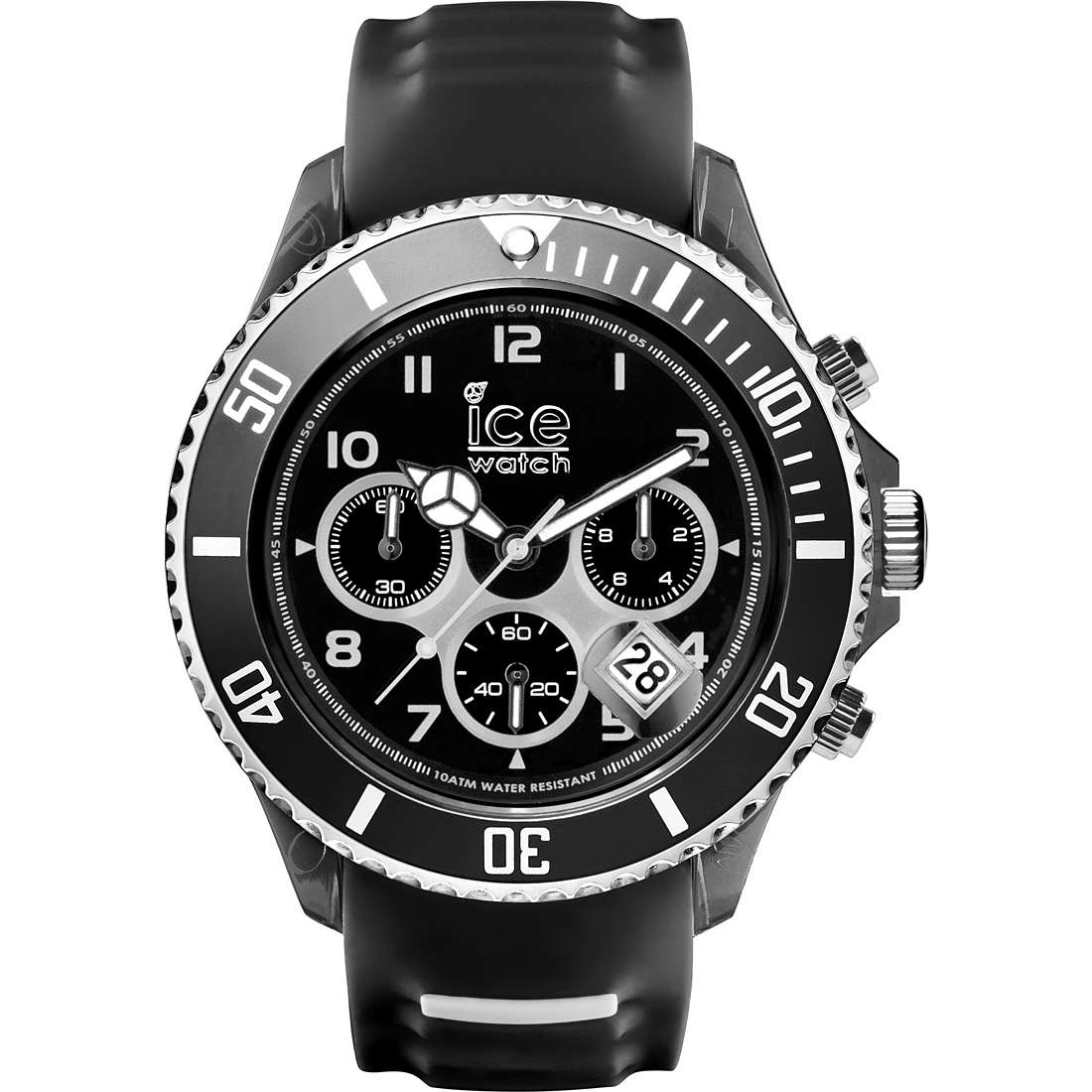 watch chronograph man ICE WATCH Ice-Sporty SR.CH.BKW.BB.S.15