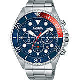watch chronograph man Lorus Sports RT317GX9