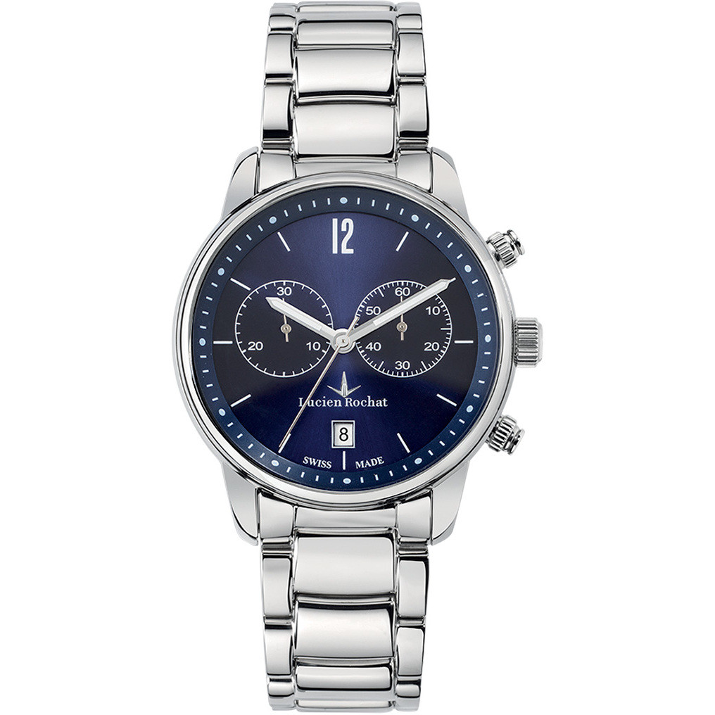 watch chronograph man Lucien Rochat Geste' R0473607001
