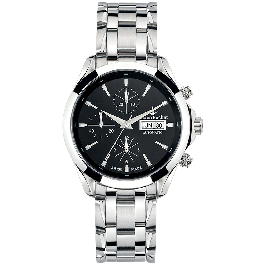 watch chronograph man Lucien Rochat Montpellier R0443604001