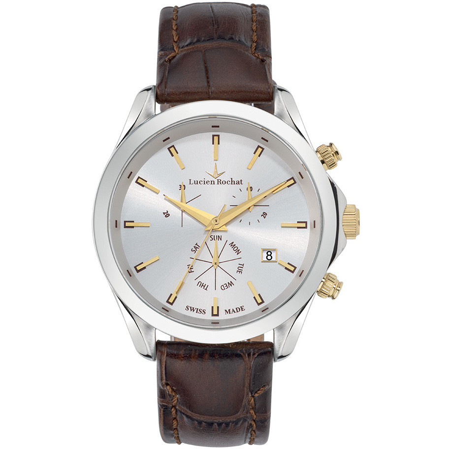 watch chronograph man Lucien Rochat Montpellier R0471604002