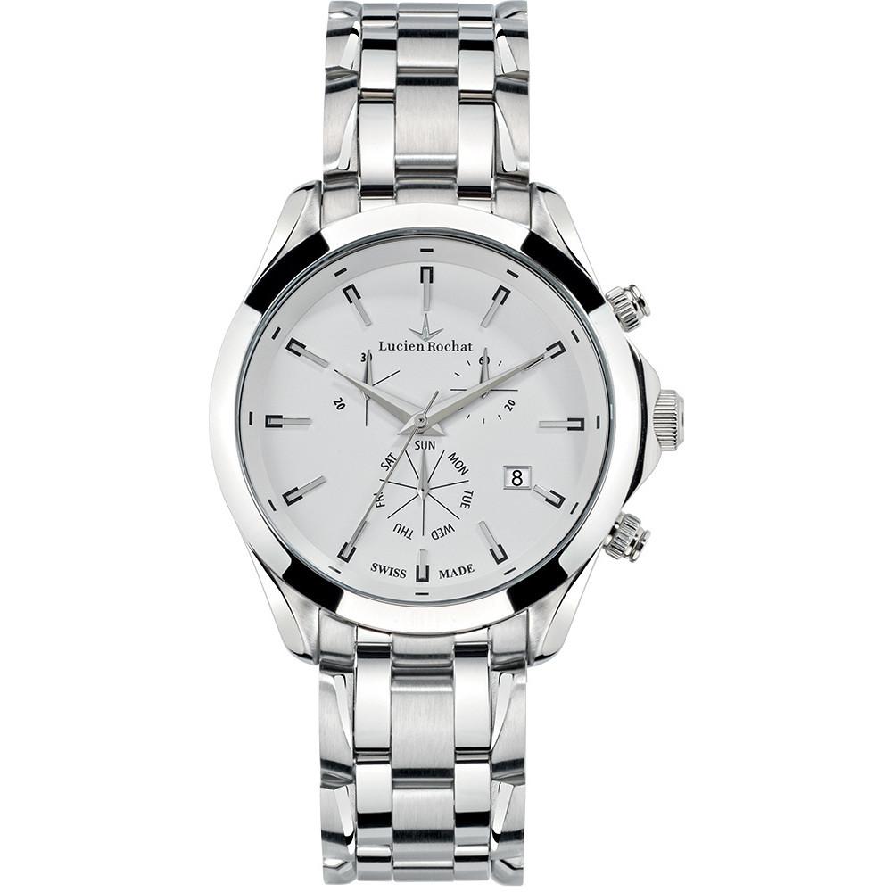 watch chronograph man Lucien Rochat Montpellier R0473604001