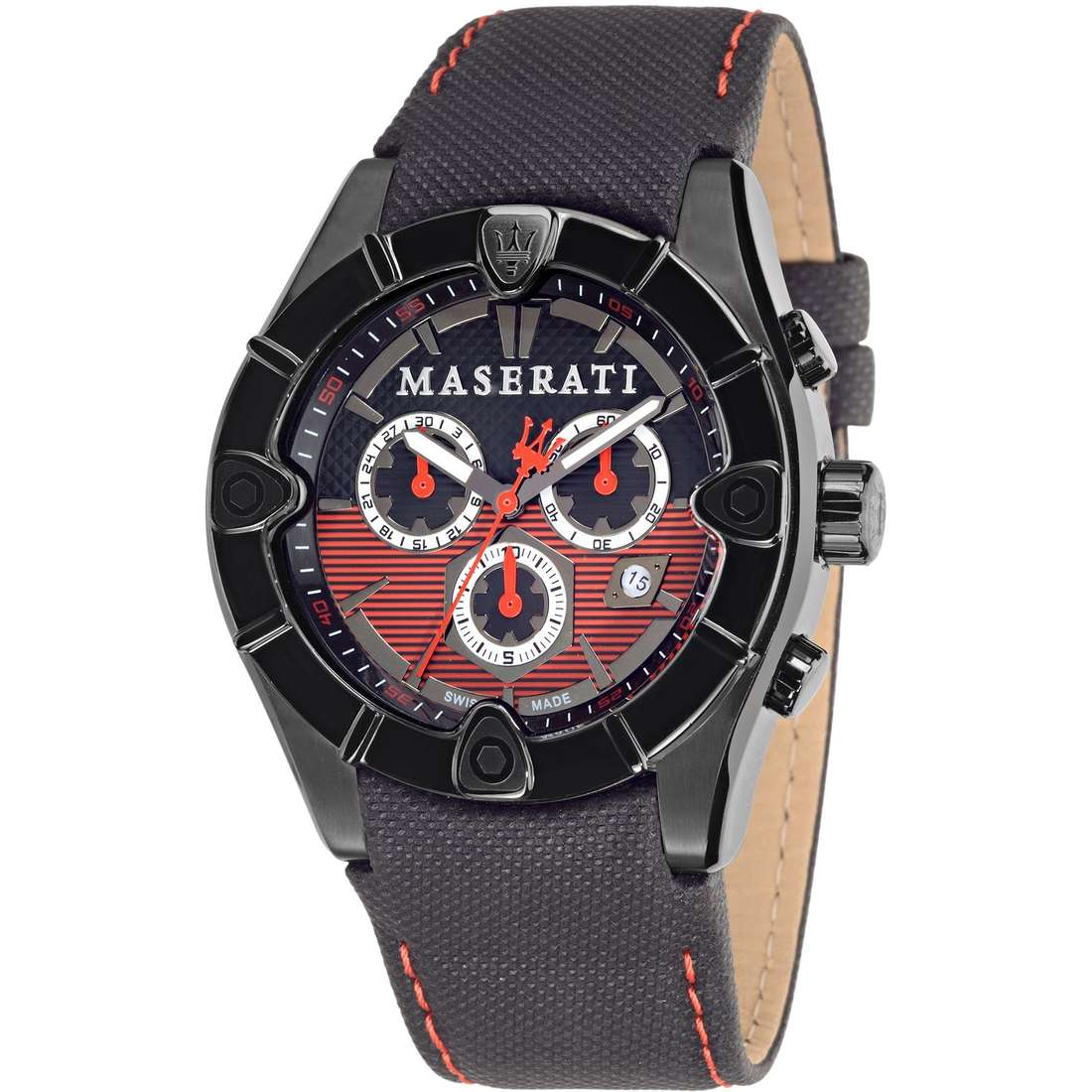 watch chronograph man Maserati MECCANICA R8871611002