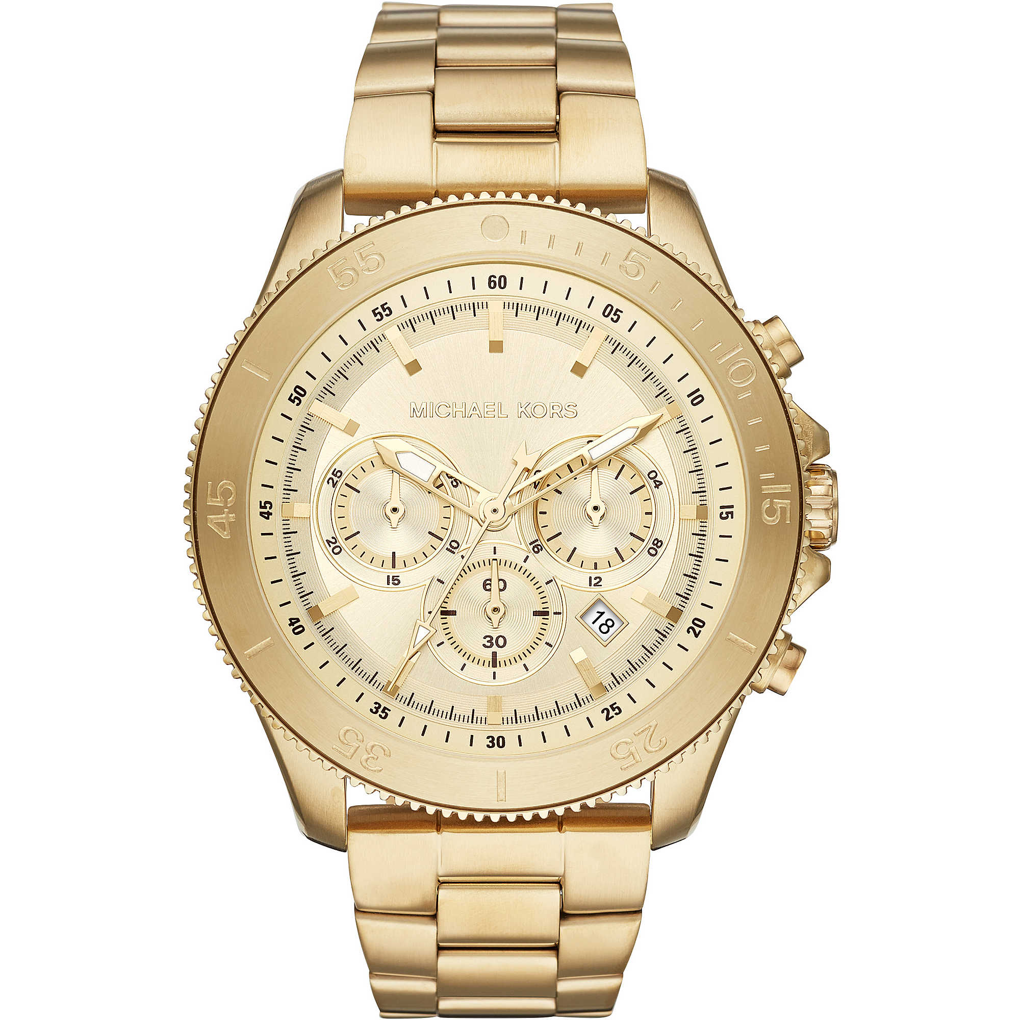 cc5d1be5835ef watch chronograph man Michael Kors Theroux MK8663 chronographs ...