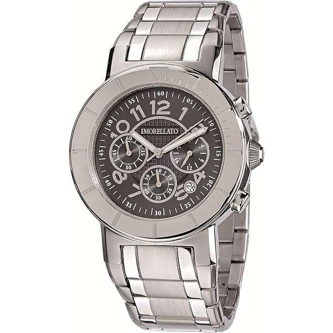 watch chronograph man Morellato Black & White SHT002