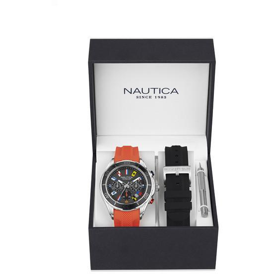 watch chronograph man Nautica NAD18531G