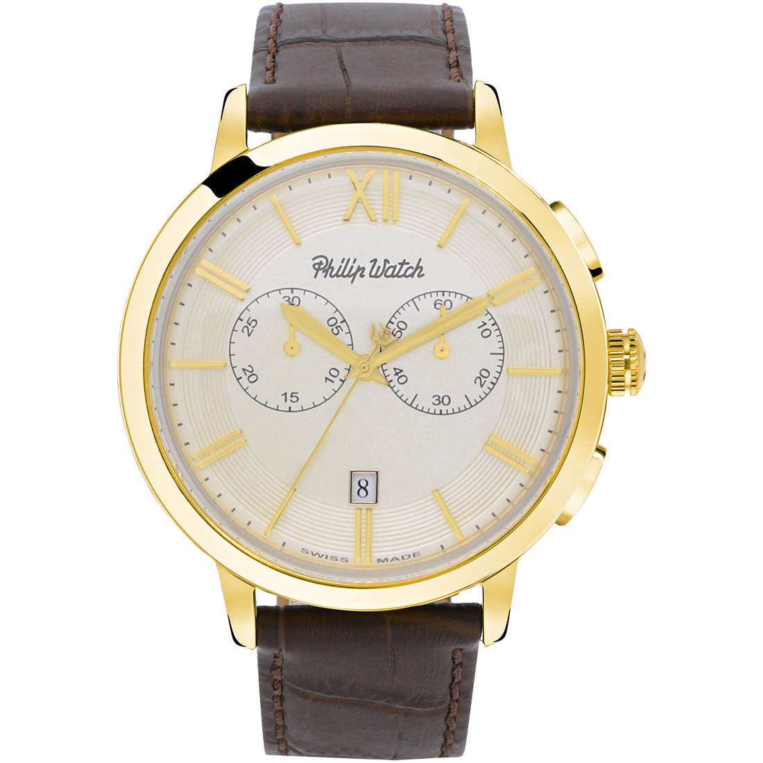 watch chronograph man Philip Watch Grand Archive R8271698006