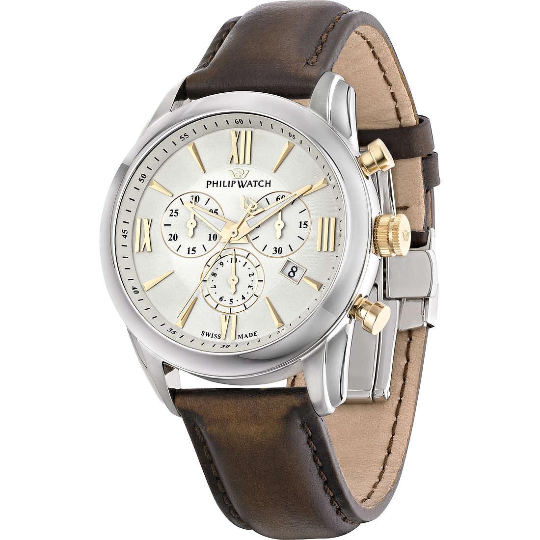 watch chronograph man Philip Watch Seahorse R8271996001