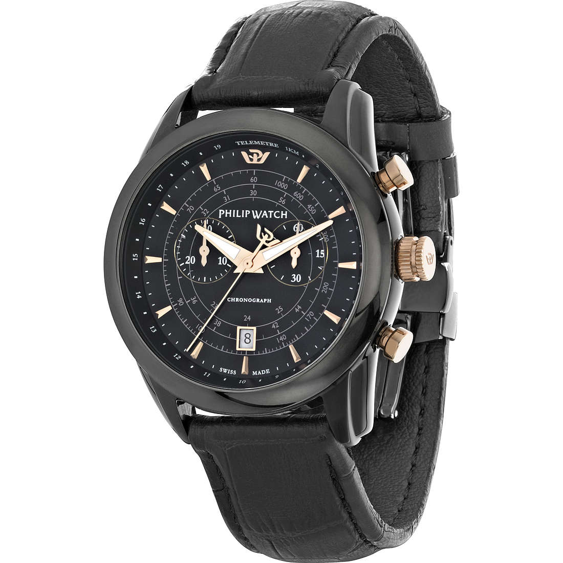 watch chronograph man Philip Watch Seahorse R8271996004