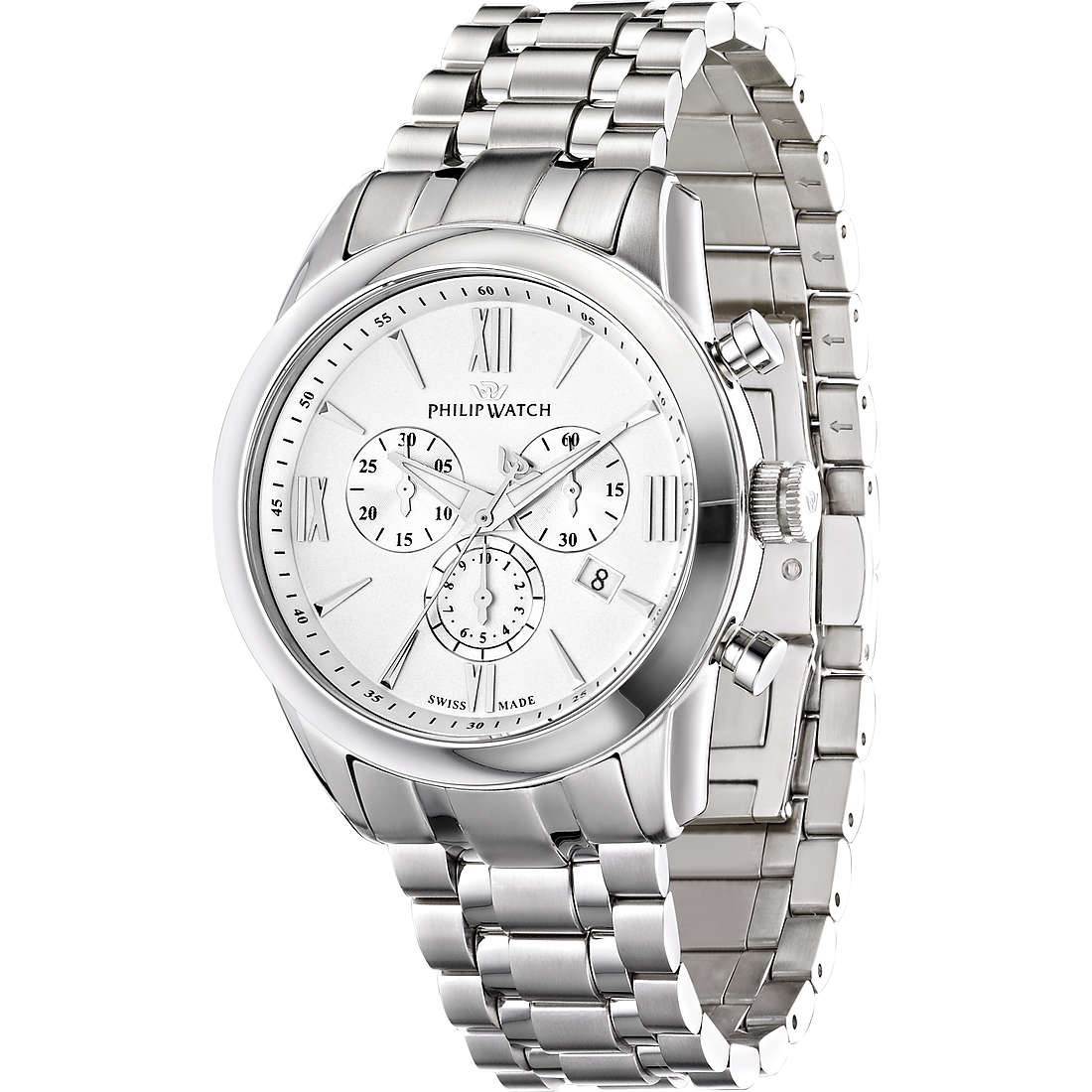 watch chronograph man Philip Watch Seahorse R8273996001
