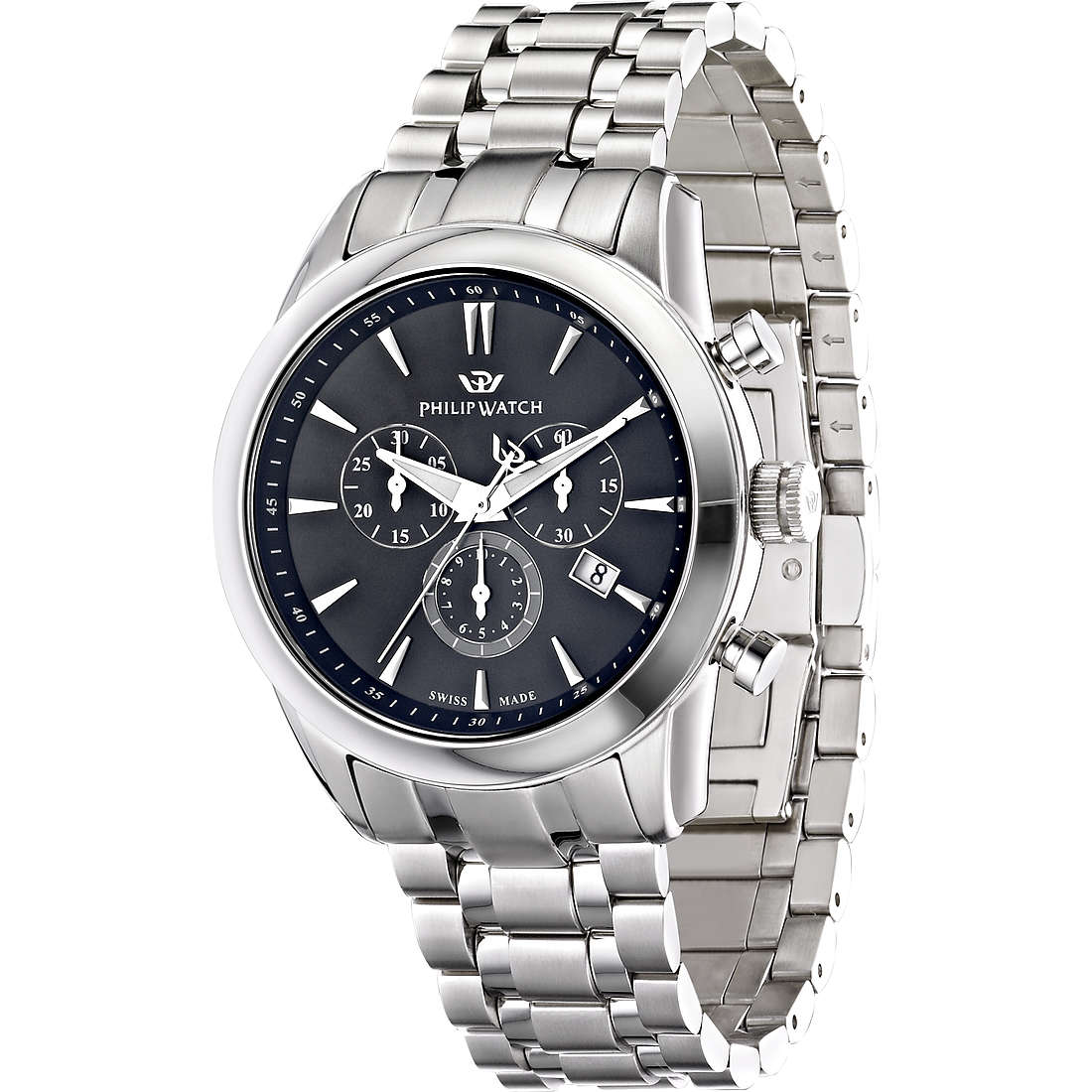 watch chronograph man Philip Watch Seahorse R8273996002