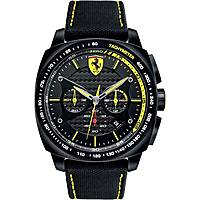 watch chronograph man Scuderia Ferrari Aero FER0830165