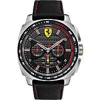 watch chronograph man Scuderia Ferrari Aero FER0830166