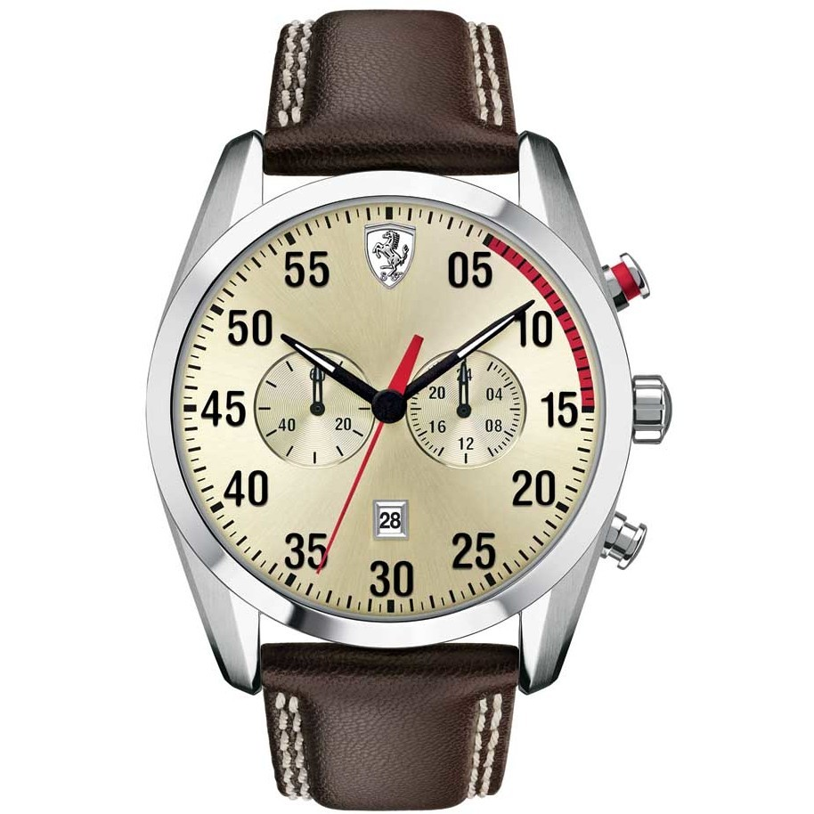 watch chronograph man Scuderia Ferrari FER0830174