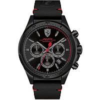 watch chronograph man Scuderia Ferrari Pilota FER0830434