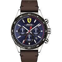 watch chronograph man Scuderia Ferrari Pilota FER0830435