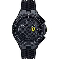 watch chronograph man Scuderia Ferrari Race FER0830105