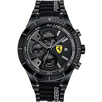 watch chronograph man Scuderia Ferrari Red FER0830262
