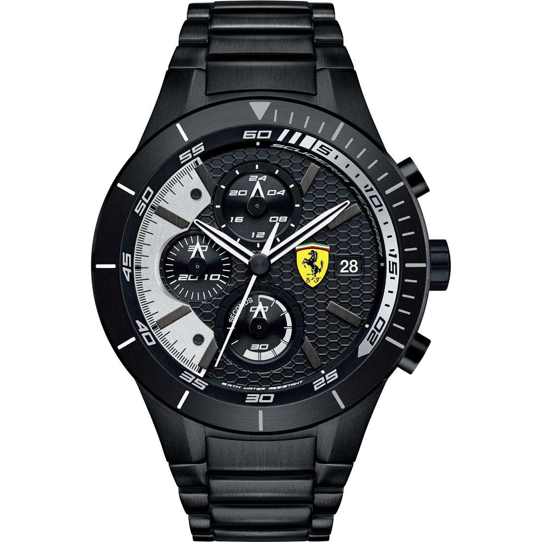 watch chronograph man Scuderia Ferrari Red FER0830267