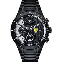 watch chronograph man Scuderia Ferrari Red FER0830267