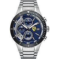 watch chronograph man Scuderia Ferrari Red FER0830270