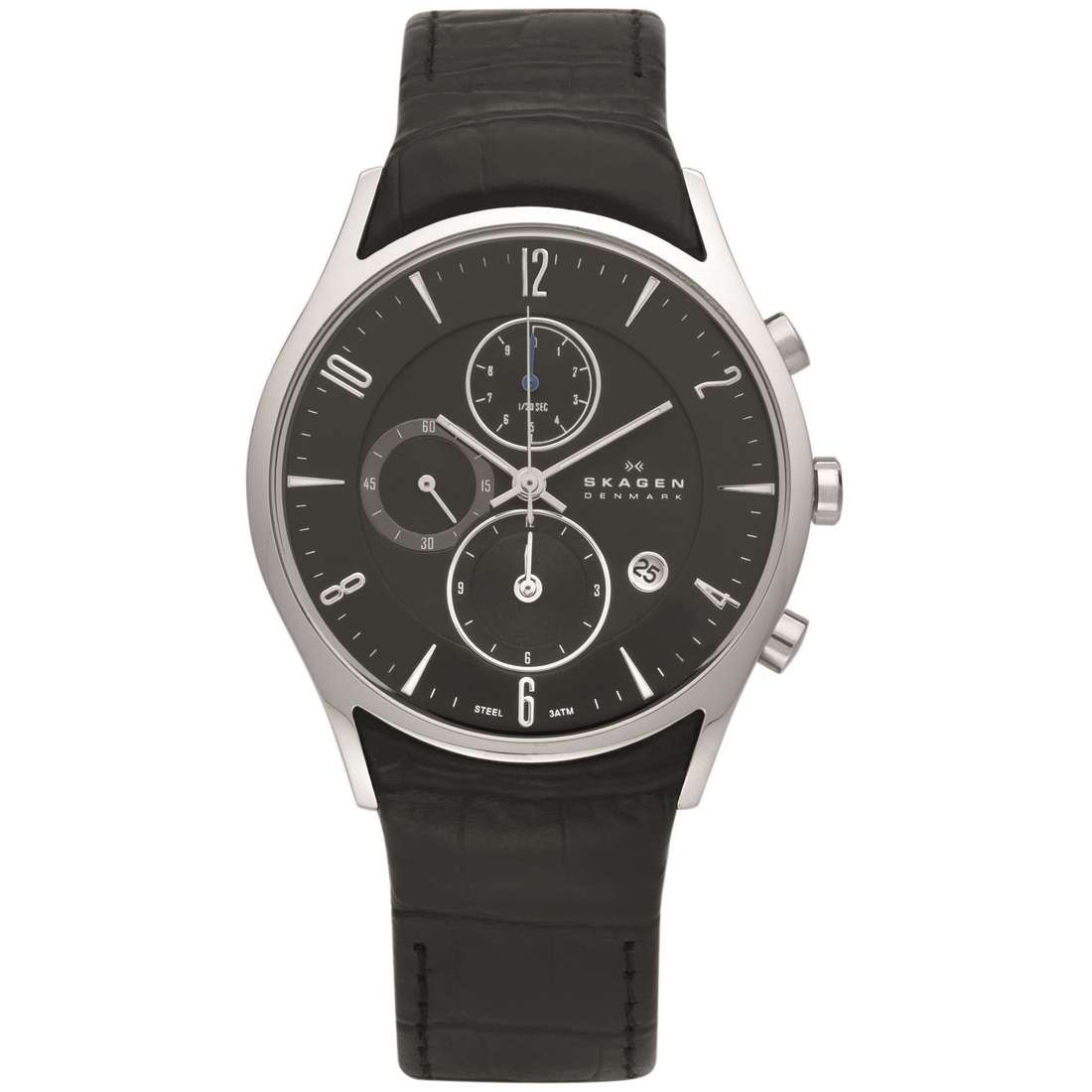watch chronograph man Skagen 329XLSLB