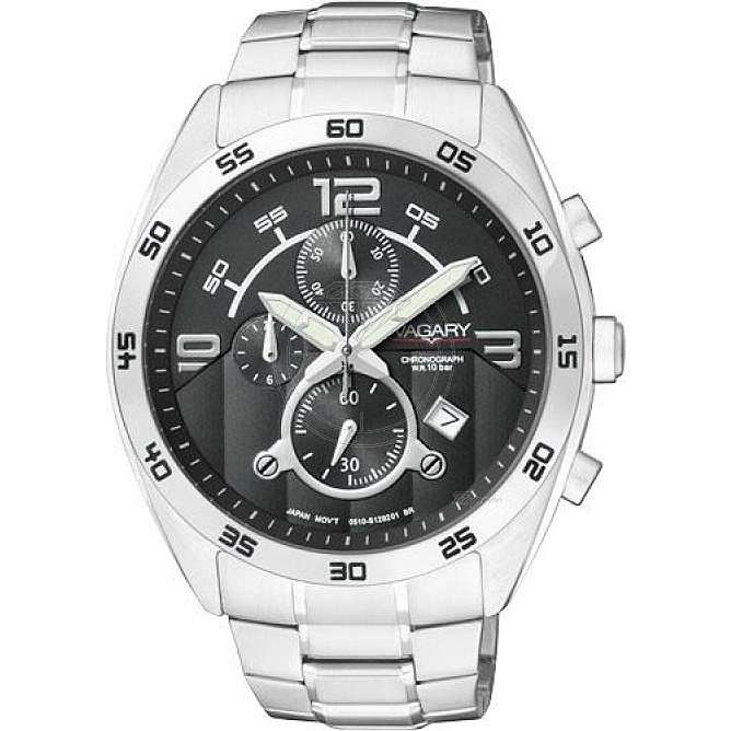 watch chronograph man Vagary By Citizen IA8-512-51
