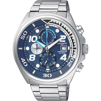 watch chronograph man Vagary By Citizen IA8-814-71