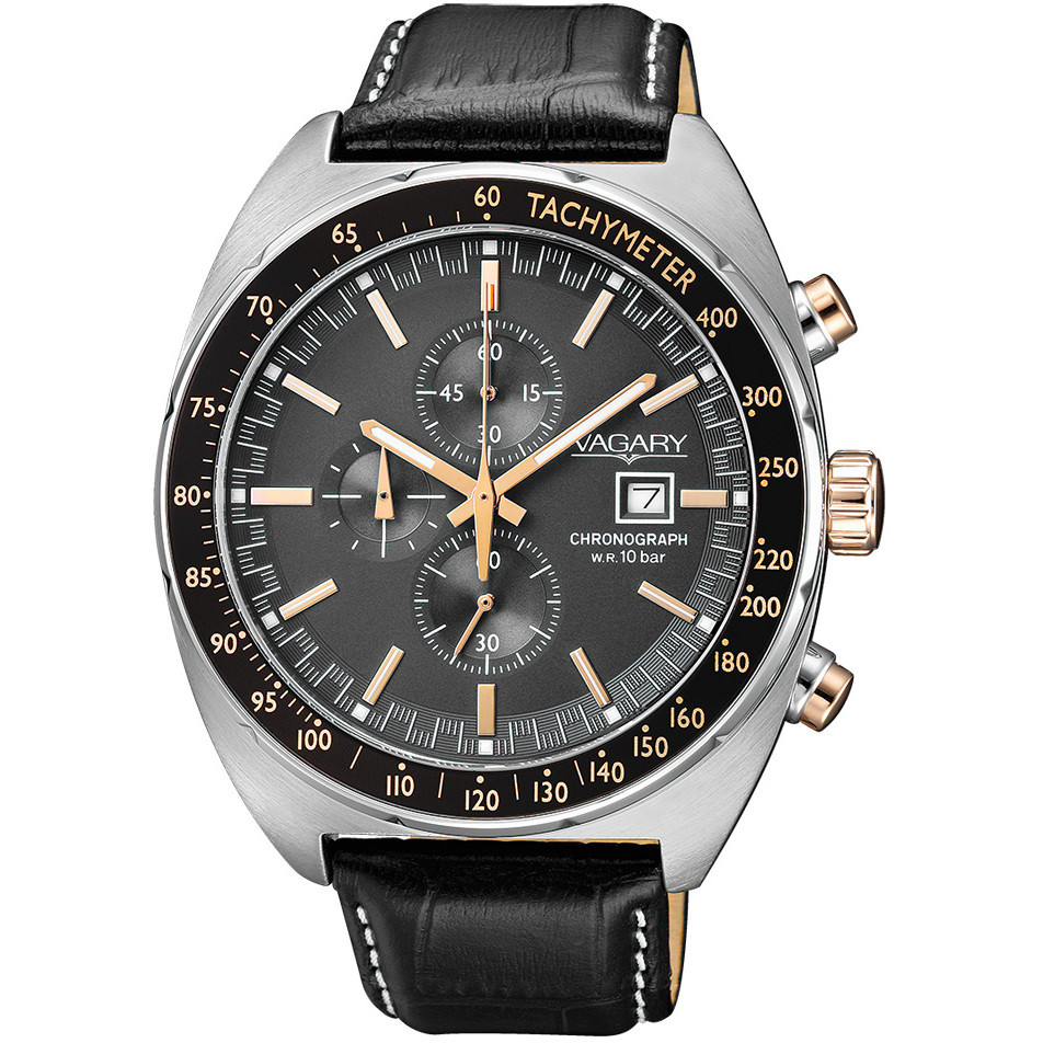 watch chronograph man Vagary By Citizen Rockwell IA9-314-50