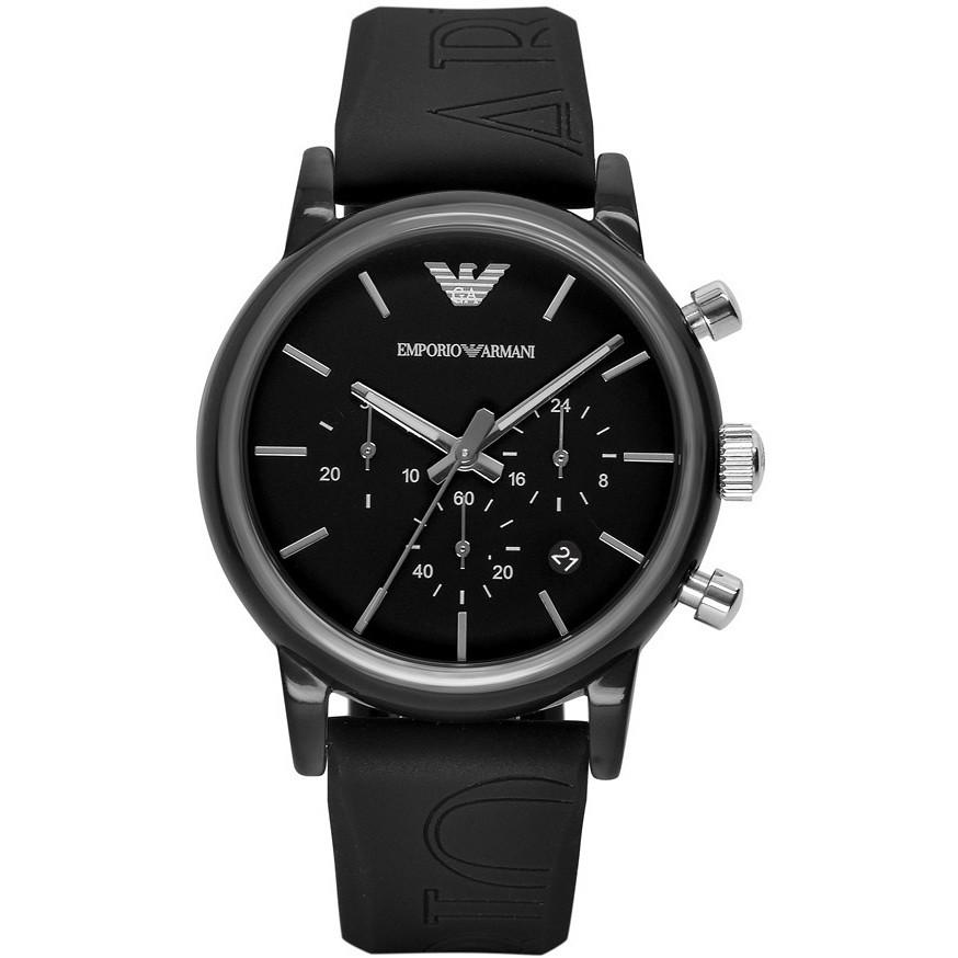 watch chronograph unisex Emporio Armani AR1053
