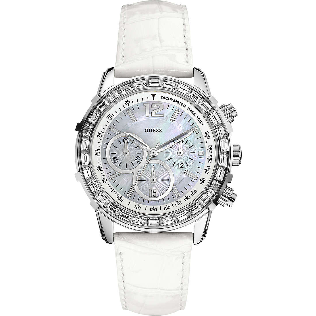 watch chronograph unisex Guess W0017L1