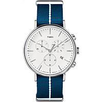 watch chronograph unisex Timex Fairfield Chronograph TW2R27000