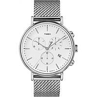 watch chronograph unisex Timex Fairfield Chronograph TW2R27100