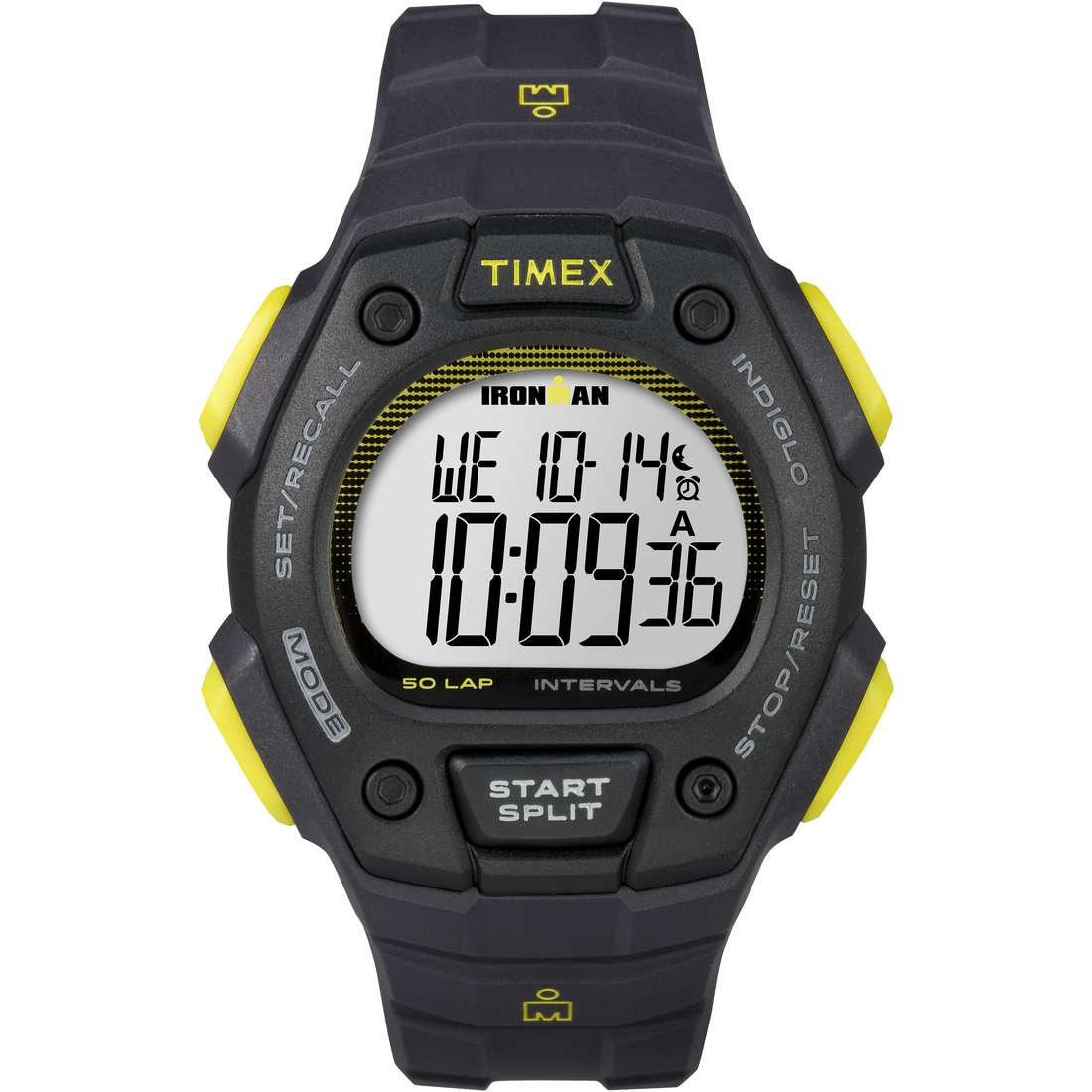 watch chronograph unisex Timex Irm 50 Lap TW5K86100
