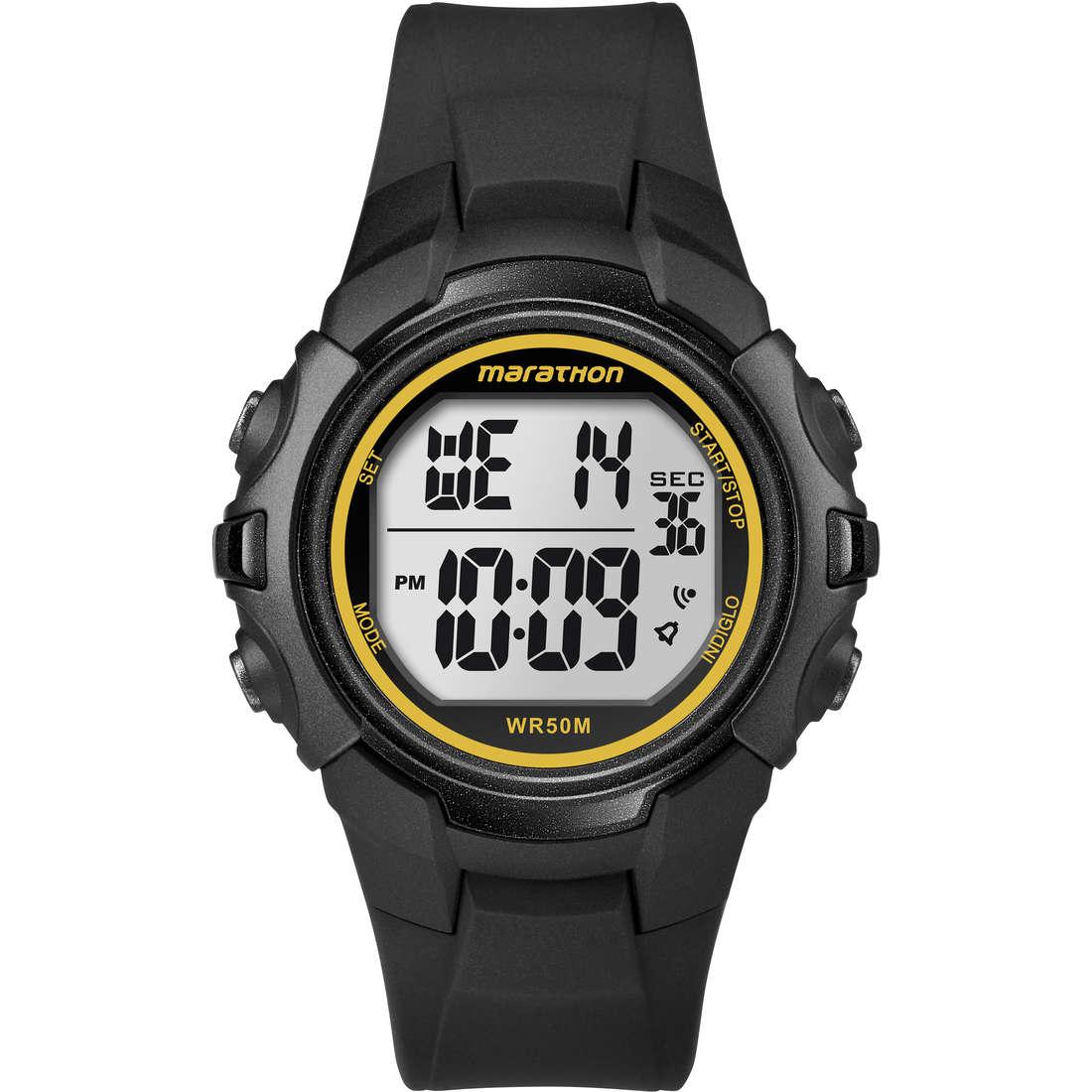 watch chronograph unisex Timex Marathon Digital T5K818