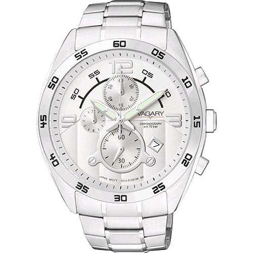 watch chronograph unisex Vagary By Citizen IA8-512-11