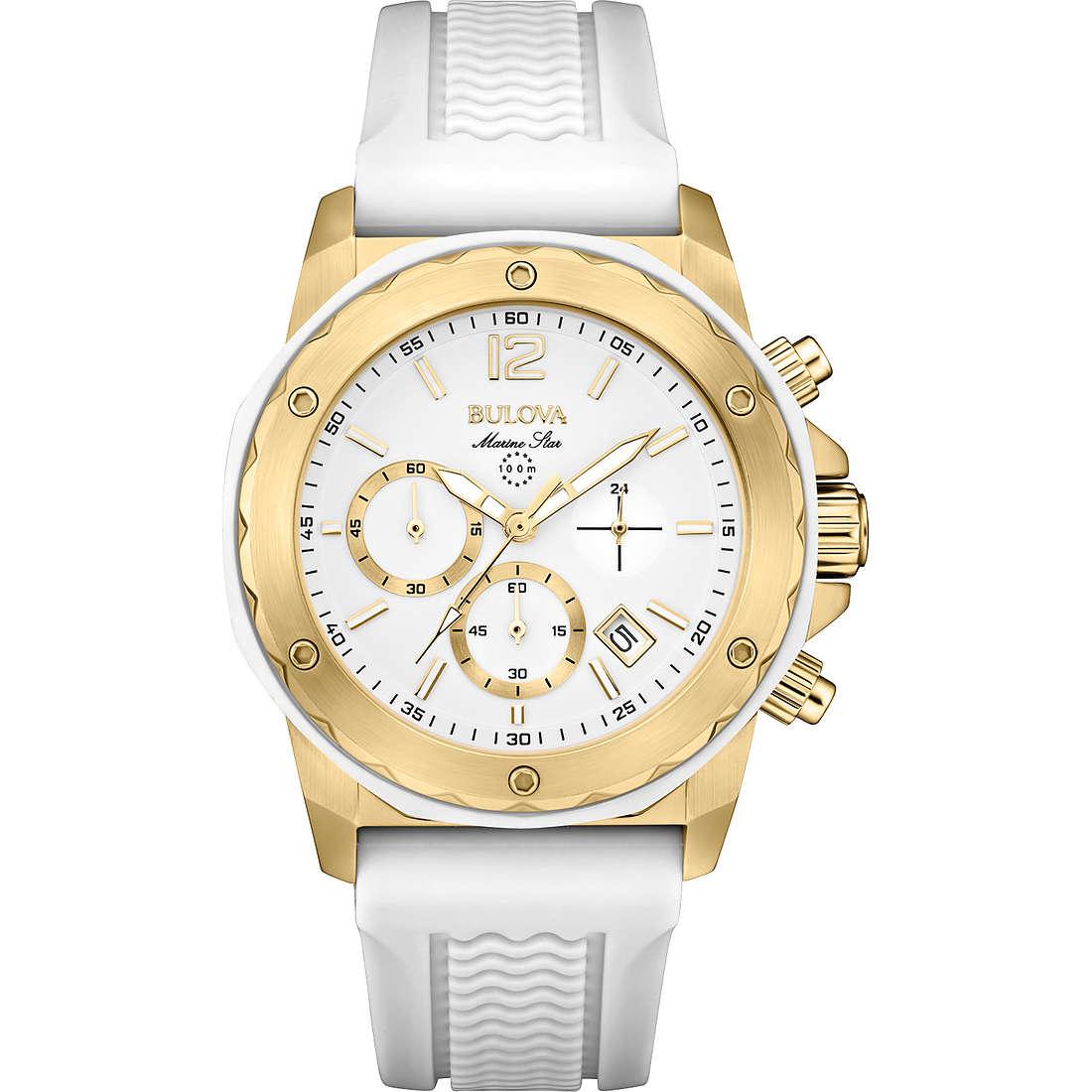 watch chronograph woman Bulova Marine Star 98M117