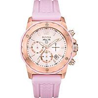 watch chronograph woman Bulova Marine Star 98M118