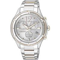 watch chronograph woman Citizen Eco-Drive FB1375-57A