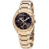 watch chronograph woman Citizen Eco-Drive FB1395-50W