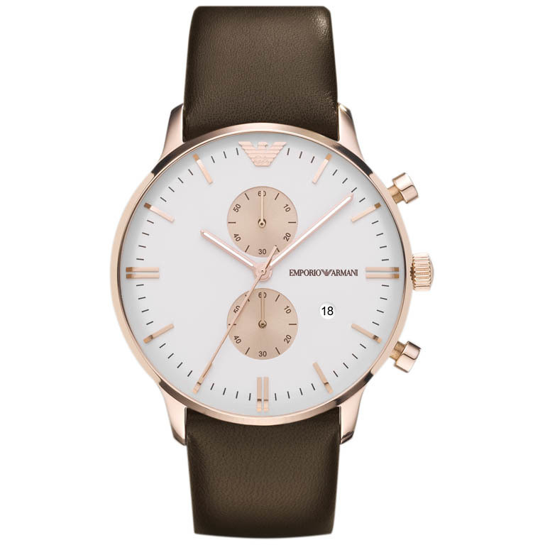 watch chronograph woman Emporio Armani AR0398