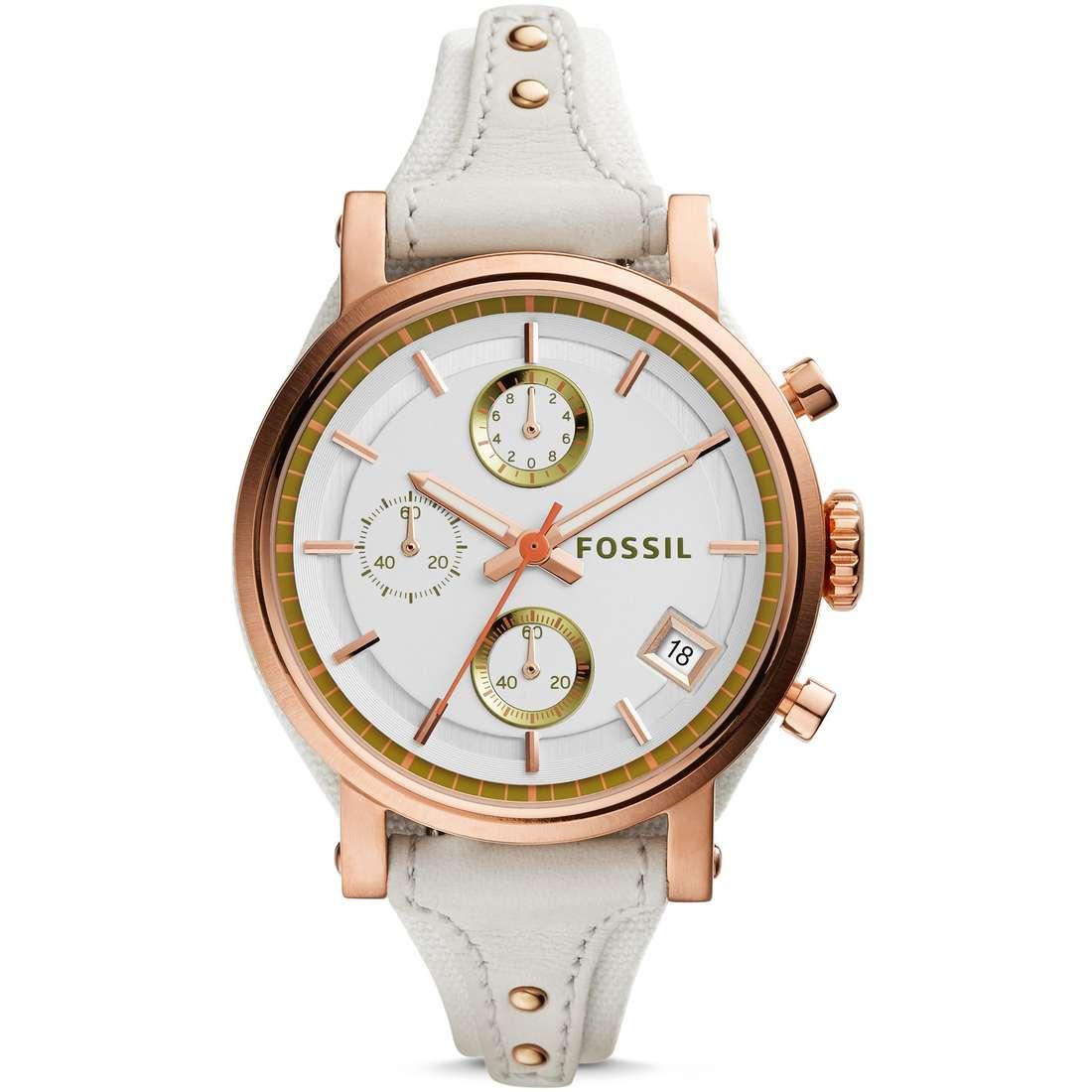 watch chronograph woman Fossil Obf ES3947