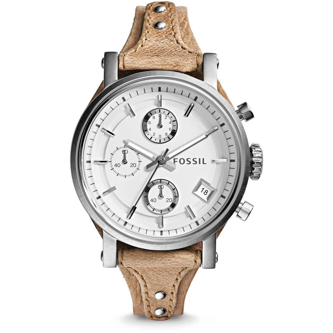 watch chronograph woman Fossil Original Boyfriend ES3625