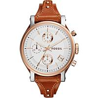 watch chronograph woman Fossil Perfect Boyfriend ES3837