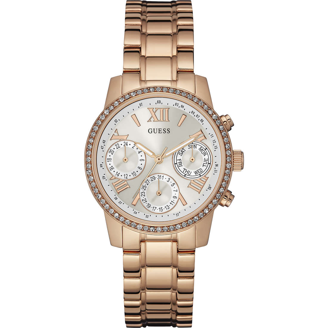 watch chronograph woman Guess Mini Sunrise W0623L2