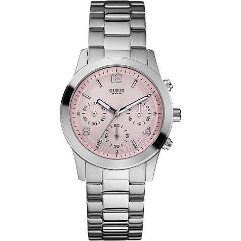 watch chronograph woman Guess W12086L2