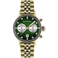 watch chronograph woman John Dandy JD-2573L/08M